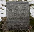 Ethel Dare grave marker.jpg