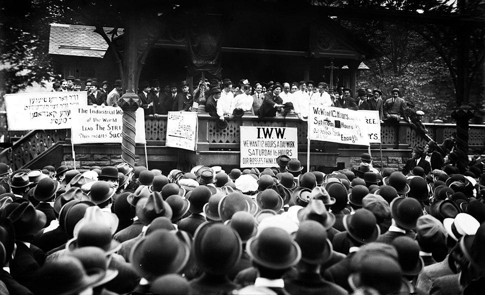 Ettor IWW barbers strike
