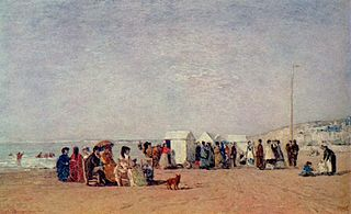 Shore of Trouville