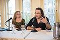 European Voices A Reading & Conversation with Christos Ikonomou and Karen Emmerich (26293126830).jpg
