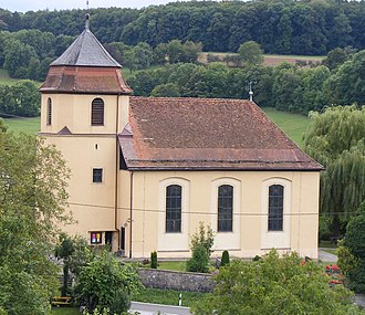 Schrozberg - Protestant church Ettenhausen