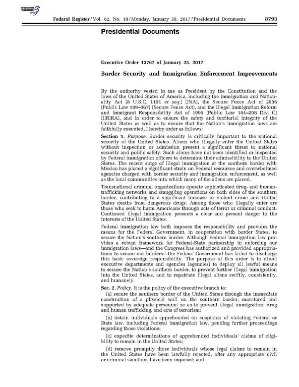 File:Executive Order 13767 pdf - Wikimedia Commons
