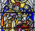 Exeter Cathedral, Stained glass window detail (36897001522).jpg