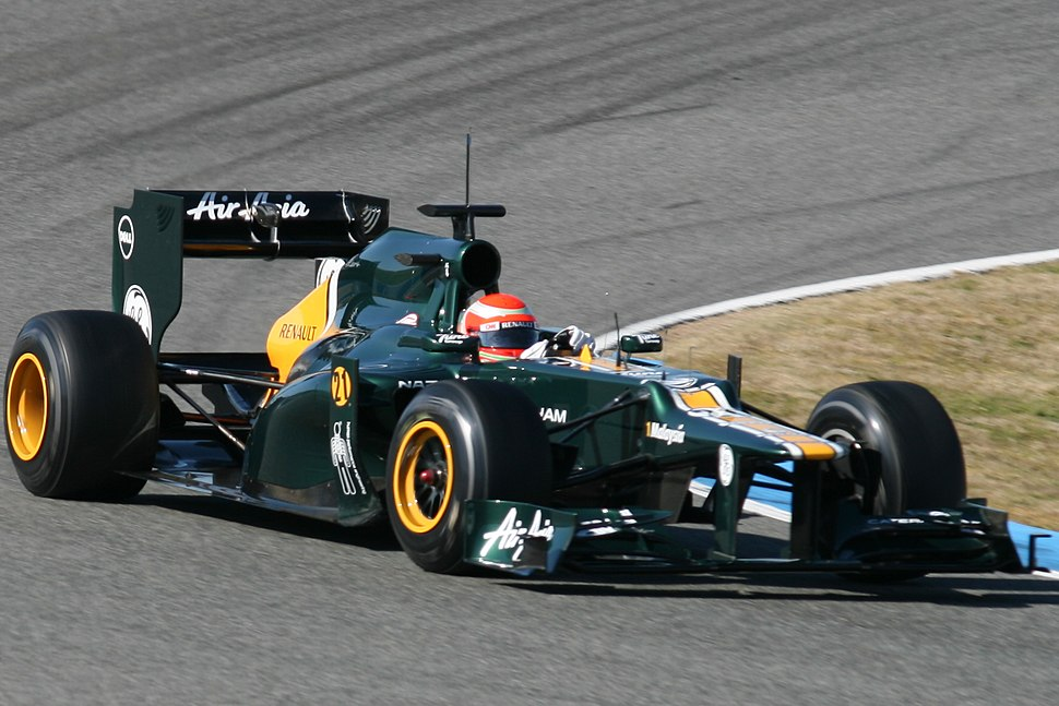 F1 2012 Jerez test - Caterham 4
