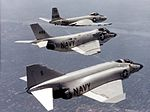 F2H F3H and F4H McDonnell fighters in flight c1959.jpg