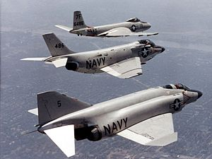 McDonnell Aircraft - McDonnell F2H Banshee, F3H Demon, and F4H Phantom II