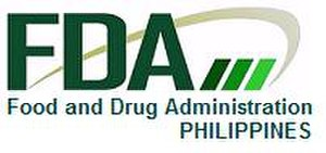 Food and Drug Administration (Philippines) - Image: FDA Logo