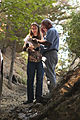 FEMA - 37388 - A SBA Official Discusses Damages With a Wildfire Victim in California.jpg
