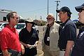 FEMA - 43884 - FEMA Federal Coordinating Officer at Tornado Disaster Staging Ar.jpg