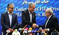 FIFA President Sepp Blatter and AFC President Salman Al-Khalifa with FFIIR President Ali Kafashian.jpg