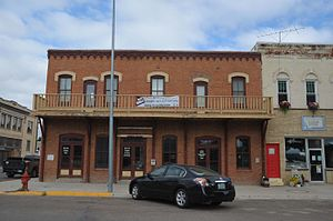 Fort Benton, Montana - Image: FORT BENTON HISTORIC DISTRICT, CHOUTEAU COUNTY, MONTANA