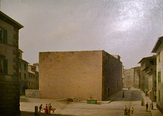 Fabio Borbottoni - Image: Fabio borbottoni, 1820 1902, carcere delle stinche
