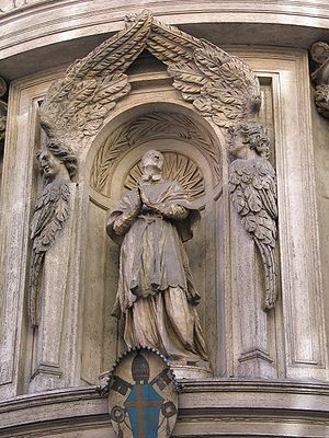 Antonio Raggi - Image: Facade San Carlo 4Fontane 3