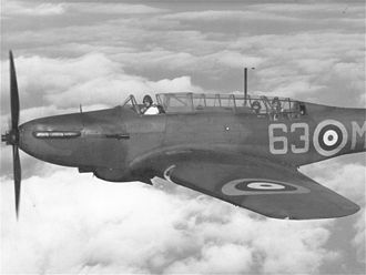 Fairey Battle - A Fairey Battle, K7650/63-M, of No. 63 Squadron, RAF Benson, November 1939. No. 63 was the first operational squadron to be equipped with the type