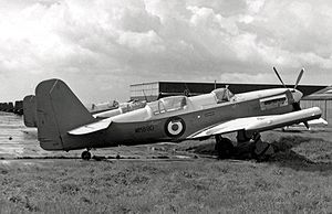 Fairey Firefly - Firefly U.8 target drone aircraft in 1955