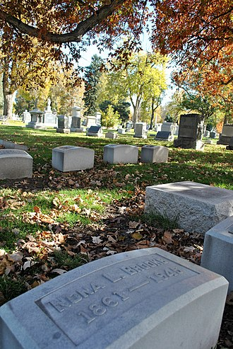 Nona L. Brooks - Fairmount Cemetery, Nona L. Brooks