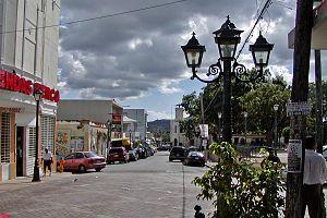Fajardo, Puerto Rico - Street scene near Fajardo Town Square