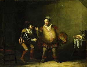 John Cawse - Image: Falstaff ridiculing Bardolph's nose