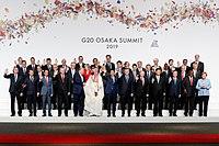 Family photo of the 2019 G20 Osaka summit.jpg
