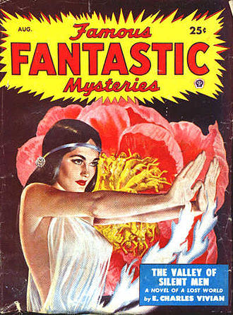 "E. C. Vivian - Fields of Sleep was reprinted in the August 1949 issue of Famous Fantastic Mysteries, under the title ""The Valley of Silent Men"""