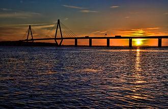 1985 in architecture - Farø Bridges (south), Denmark