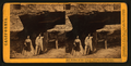 Father of the Forest - Entrance to the Horseback ride, Mammoth Grove, Calaveras County, by Lawrence & Houseworth 2.png