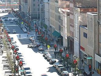 Fayetteville Street (Raleigh) - Fayetteville Street