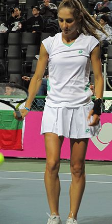 Fed Cup Group I 2011 Europe Africa day 3 Dia Evtimova 001.jpg