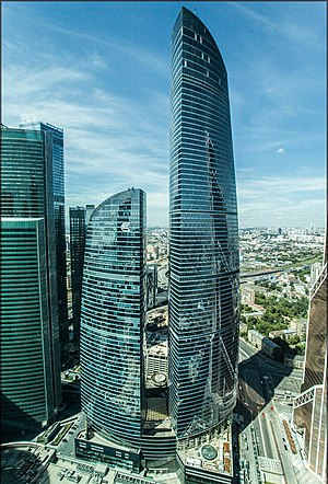 Federation-Tower in July, Moscow.jpg