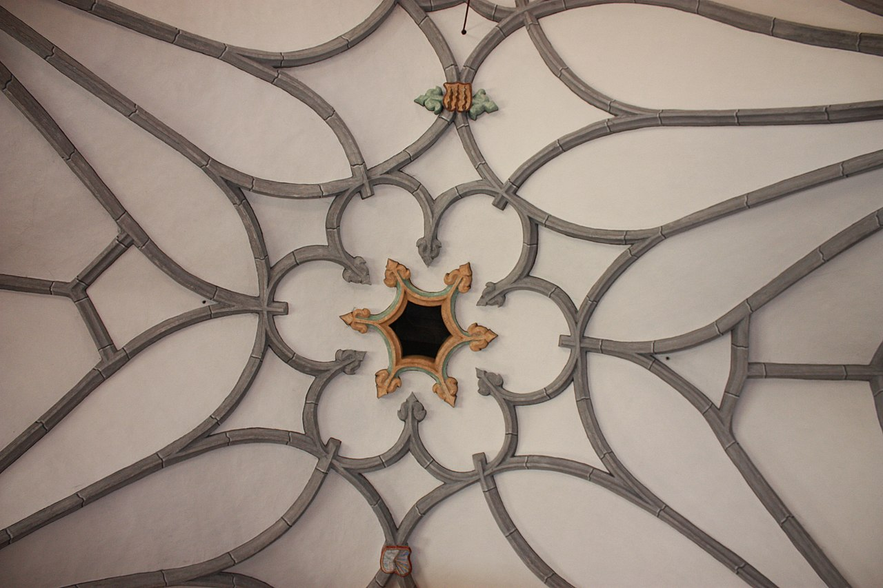 File:Feistritz an der Drau - Pfarrkirche Hl Georg - Vault.JPG - Wikimedia  Commons