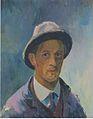 Felix Esterl - Selbstbildnis mit Hut - 1927.jpeg