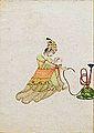 Femme lisant une lettre (musée Guimet, Paris) (13900461737).jpg