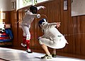 Fencing in Greece. Epee Fencing at Athenaikos Fencing Club.jpg