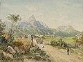 Ferdinand Gatt Die Sonnenspitze bei Ehrwald.jpg