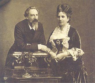 Elise, Countess of Edla - King Ferdinand II and the Countess of Edla