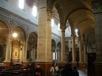 Santa Maria in Vado, Ferrara - Image: Ferrara, santa maria in vado, interno 04