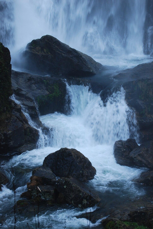 Fervenza no río Bellelle, Fene, Galiza