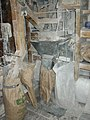 Filling sacks with flour in the corn mill, Little Salkeld - geograph.org.uk - 280332.jpg