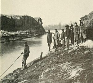 Dutch Gap - The canal was finished in April 1865