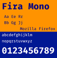 Fira Mono font specimen.png