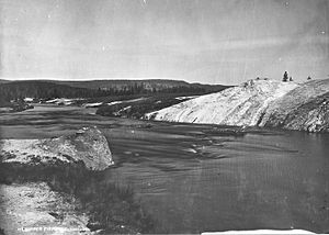 Firehole River - Image: Firehole River 1872
