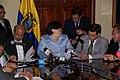 Firma de Memorandum de Entendimiento entre Ecuador e Irán para la construcción de hidroeléctricas (3349281332).jpg