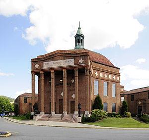 First Baptist Church (Asheville, North Carolina) - First Baptist Church, September 2012