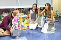 First Lady Melania Trump at the Monroe Carell Jr. Children's Hospital (29764675558).jpg