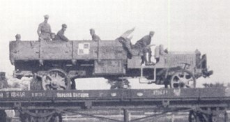 Liberty truck - First Series Liberty Truck in use by Polish AirForce ca.1919-20