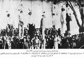 First Series of executions, Russian Occupation of Tabriz, 1911.png
