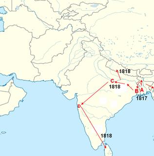 1817–1824 cholera pandemic Health disaster