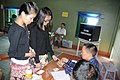 First time young voters for the 1st Aizawl Municipal Council Election, at Aizawl on November 03, 2010.jpg