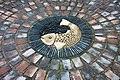 Fish mosaic, Hollymount church, Malvern - geograph.org.uk - 1618465.jpg