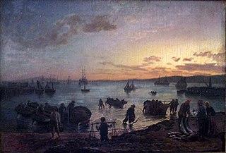 Fishermen and fishing craft at Rogge Bay